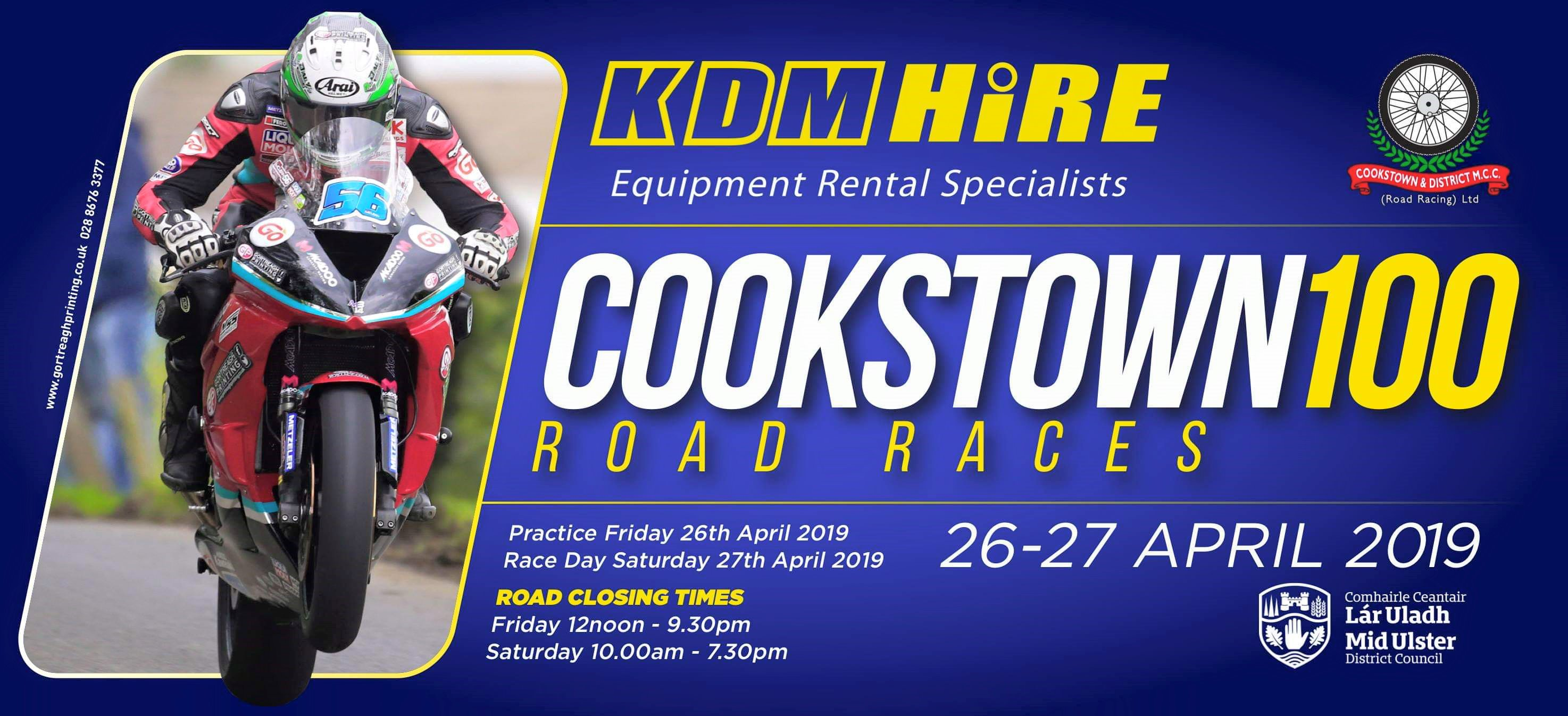 [Road racing] Cookstown 100  2019  48396974_2185635358134617_688272924410380288_o